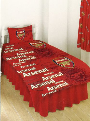 ARSENAL SINGLE SIZE DUVET COVER SET